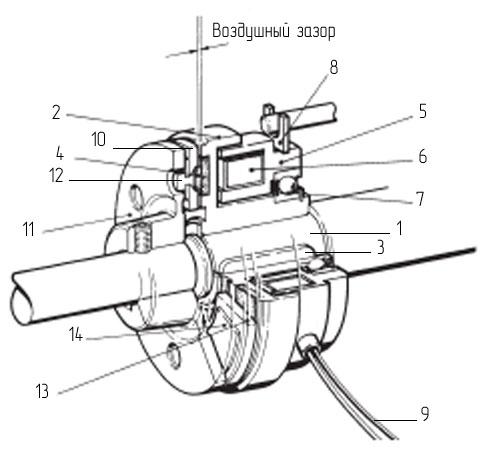 Принцып работы электромагнитной муфты